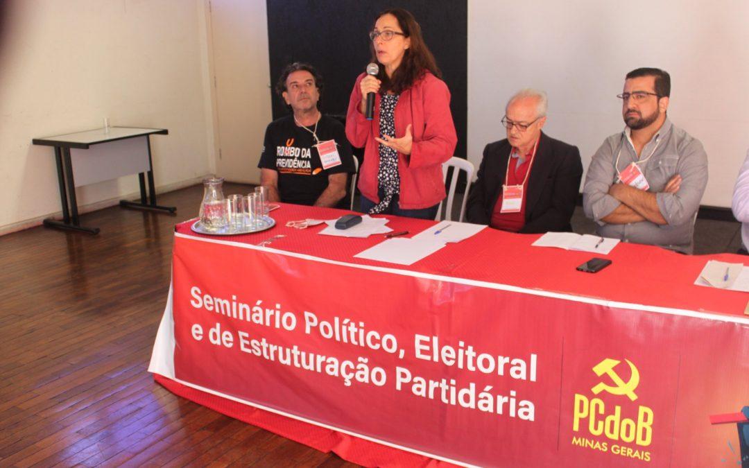 PCdoB Minas realiza Seminário Político, Eleitoral e de Estruturação Partidária com muita representatividade