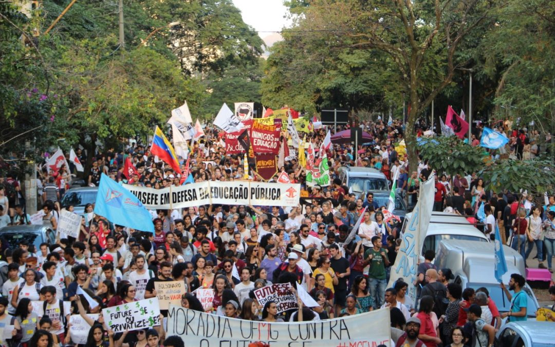 PCdoB Minas Gerais participa das manifestações do 13 de agosto pelo estado