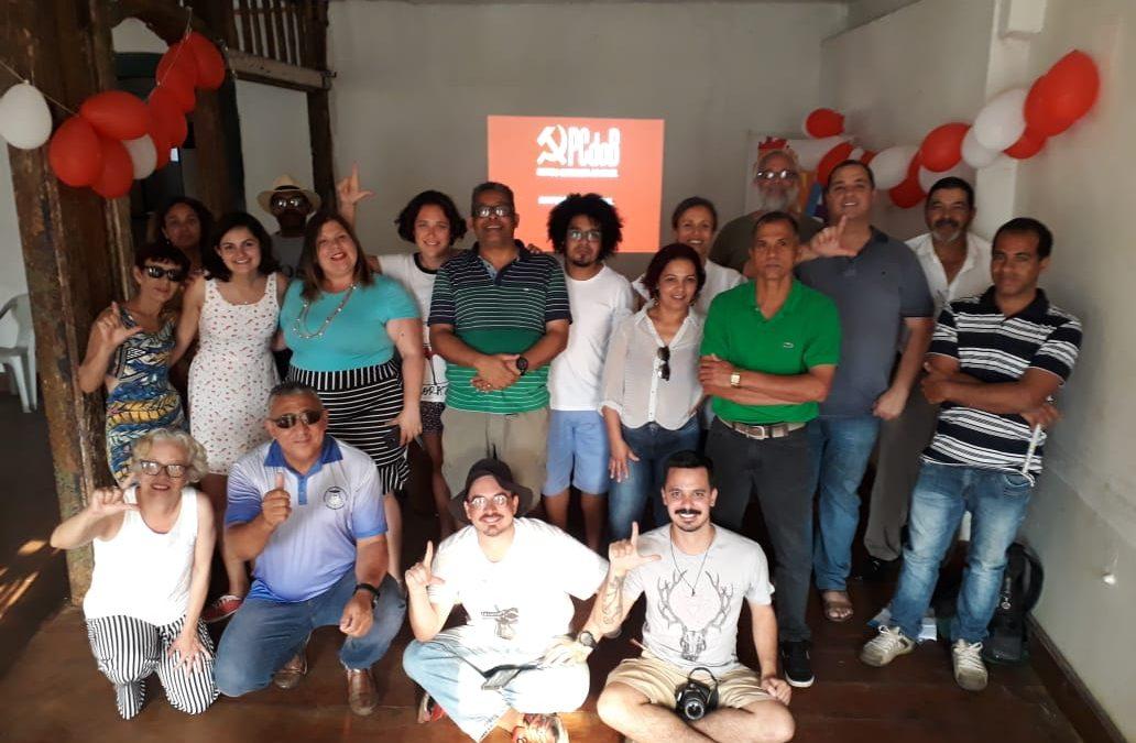 PCdoB Ouro Preto realiza conferência municipal com entusiasmo e êxito