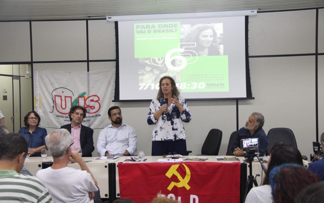 PCdoB Minas e BH promovem debate com Jandira Feghali
