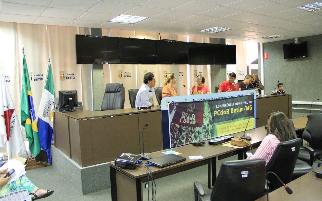 17ª Conferência do PCdoB Betim elege nova direção