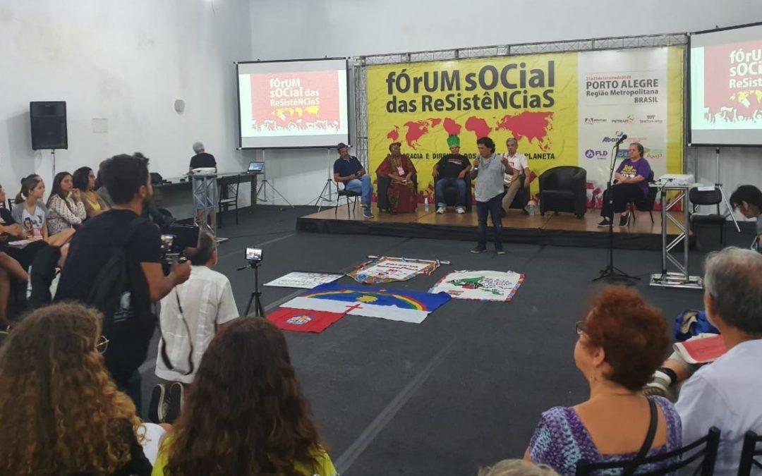 PCdoB/BH no Fórum Social das Resistências