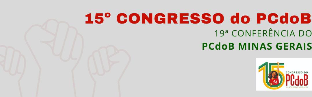 15º Congresso do PCdoB: confira as datas das conferências municipais em MG